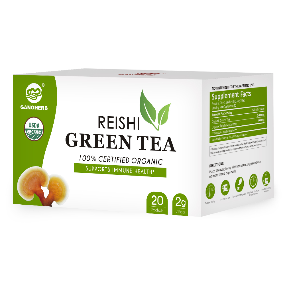 Organic Reishi Green Tea