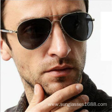 Europe style for for Cool Men'S Sunglass Round Metal Male Fashion Sunglasses Outdoor Specia supply to Spain Manufacturers