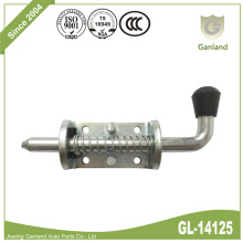 Zinc Plated Spring Loaded Toggle Latch Shot Bolt