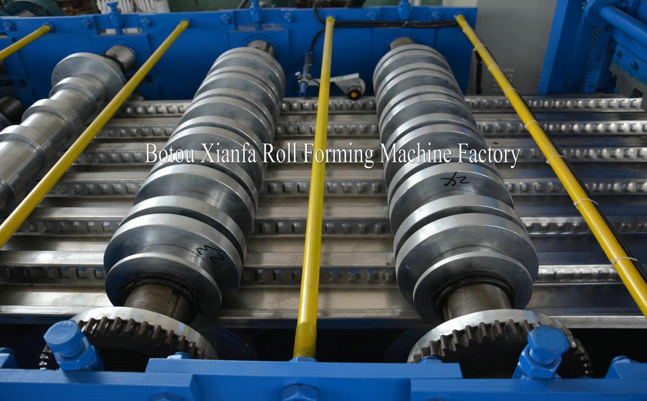 floor slab roll forming machine