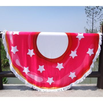 Circle Doughnut Unique Beach Towels For Two