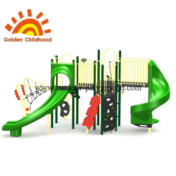 Big Green Outdoor Playground Equipment For Sale