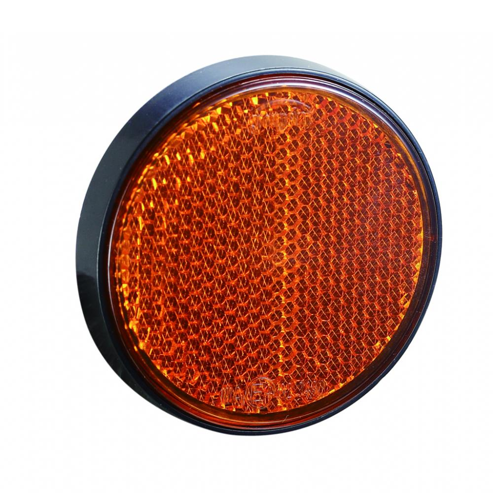 Backup UV PC Trailer Round Reflectors