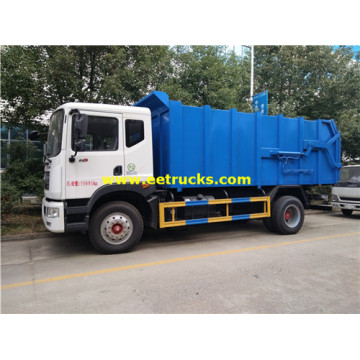 12 CBM Dongfeng Docking Trash Trucks