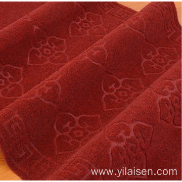 Customized Colorful Embossed Plain Foot mat