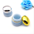 Macaron acrylic round cosmetic jars with good price