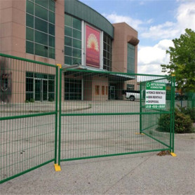 Canada painting welded wire mesh infilling Temporary fence