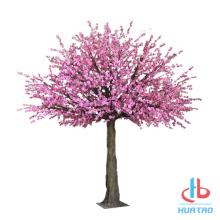 PE Artificial Peach Blossom Tree