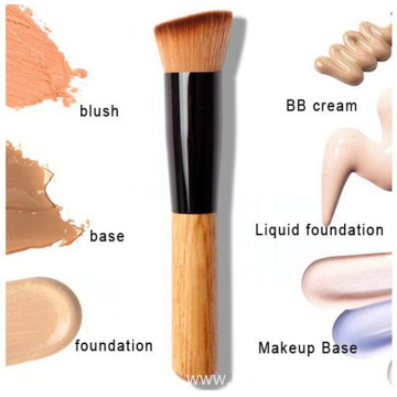1pcs angled foundation blush flat makeup brush
