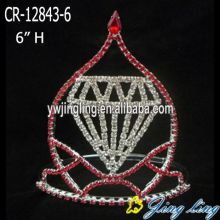 "6"" Glitz Diamond Pageant Crowns"