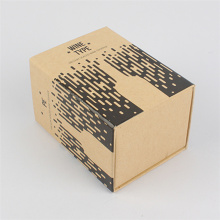 Custom Wine Packaging Kraft Paper Drawer Box