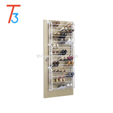 12 shelf 36 pair wall/door hanging shoe rack storage organizer
