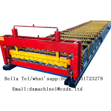 Cold steel roof sheet rolling machine