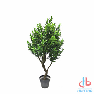Silk Leaves Artificial Olive Tree