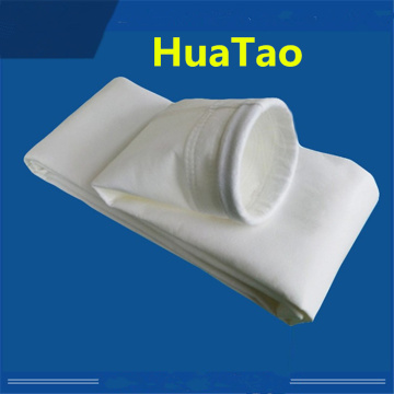 White polyethylene liquid filter bag