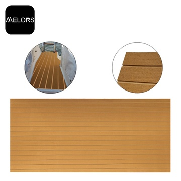 OEM Faux Teak Anti-slip EVA Flooring Sheet