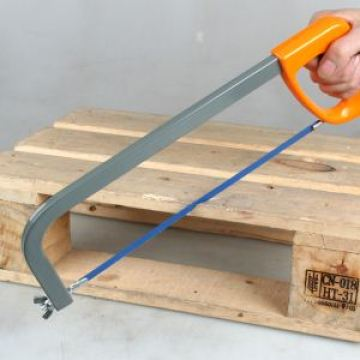 high-tension steel hacksaw frame