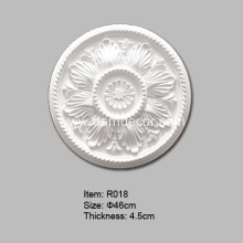 PriceList for for Decorative Ceiling Roses Round Polyurethane Ceiling Rose supply to France Importers