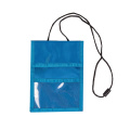 Hot Selling High Quality Leather ID Card Holder With Lanyard