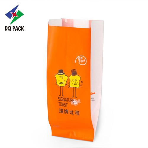 Plastic paper bag Kraft paper bag bread packaging