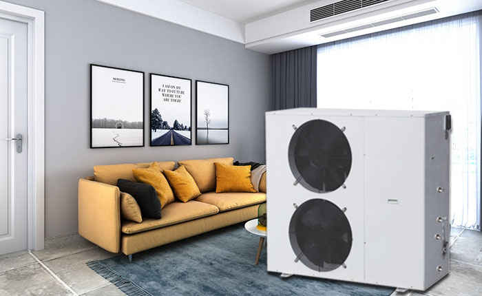 Solar Heat Pump Air Conditioner