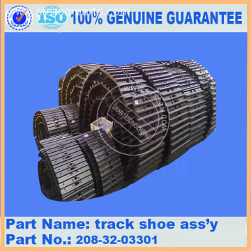 PC400-7 PC400-8 PC450-8 track shoe ass'y 208-32-03301