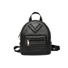 black soft waterproof eva foam smart backpack zip