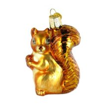 Manufacturer of for Large Glass Christmas Balls Squirrel Shaped Blown Customized Christmas Glass Ornaments export to Tanzania Factory