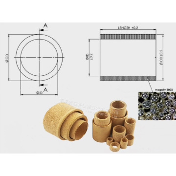 Bronze  Powder Sintered Filter Element And Disc