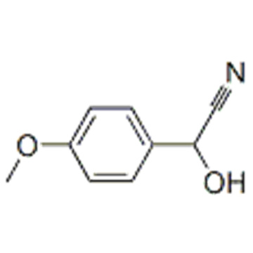 (4-methoxyphenyl)glycolonitrile CAS 33646-40-1