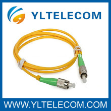 APC PMMA Singlemode & Multimode Fiber Optic Patch Cord For Access Network