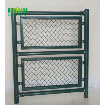 High Strength PVC Coated Iron Chain Link Fence