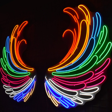 ANGEL WINGS 1 LED NEON ILLININATED SIGNAGE