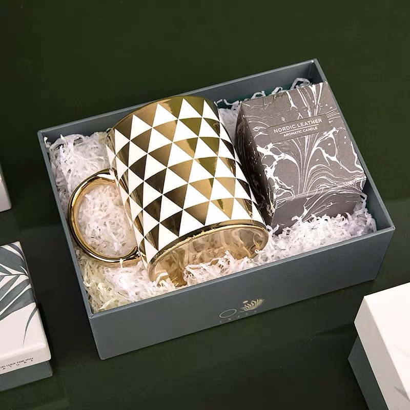 Gift Set Box With Hot stamp
