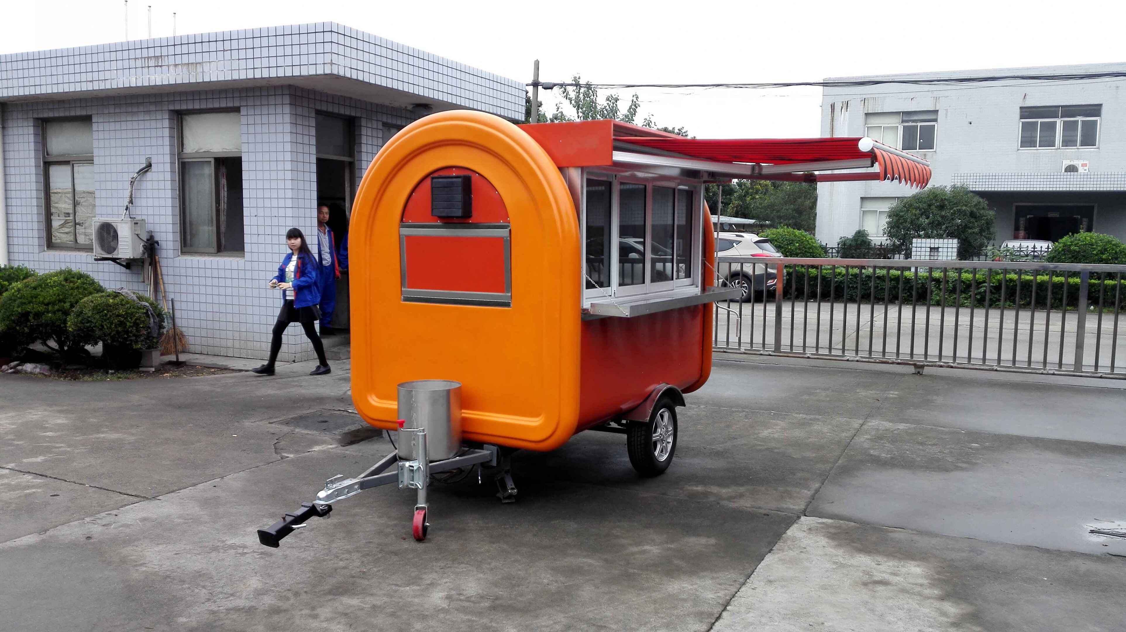 fast food trailer