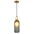 Nordic minimalist creative Smoke grey glass pendant light