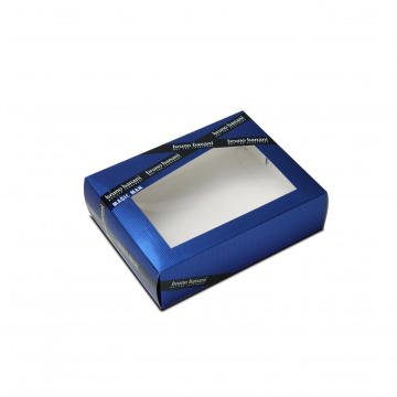 Customized Foldable Card Paper Box With Window