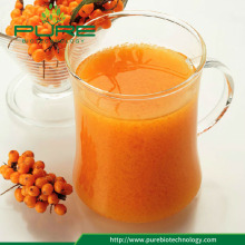 Certified organic healthy sea buckthorn fruit juice