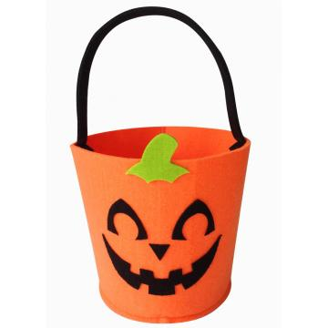 Halloween felt candy bucket or gift basket