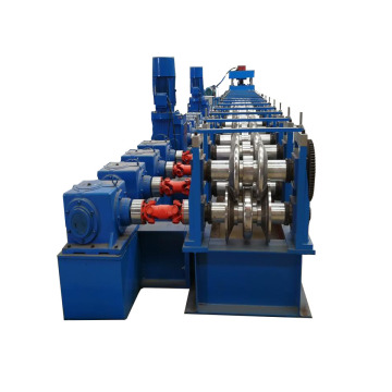 High-speed Metal Steel Guardrail Tile Forming Machine