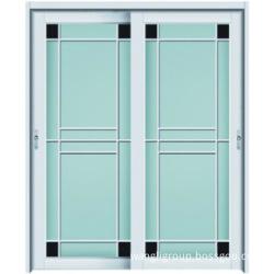 Pintu Aluminium Untuk Tandas Bilik Mandi Dengan Kaca Berkualiti Tinggi Wl W3016