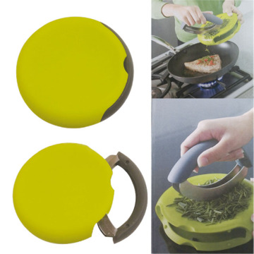 Stainless Steel Herb Chopper with Cutting Board