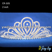 Rhinestone princess tiaras for girls