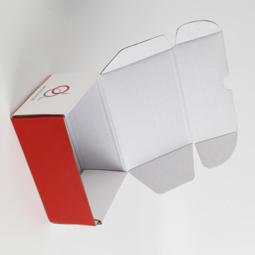 Logo Printed Foldable Corrugated Paper Box