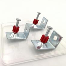 Pd Drive Pins with Red Plastic Washers