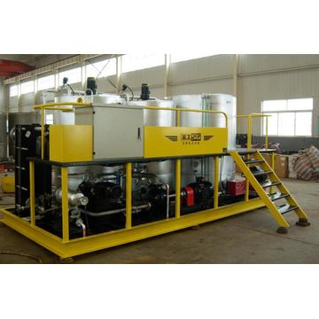 Stationary portable small scale asphalt mixing plant