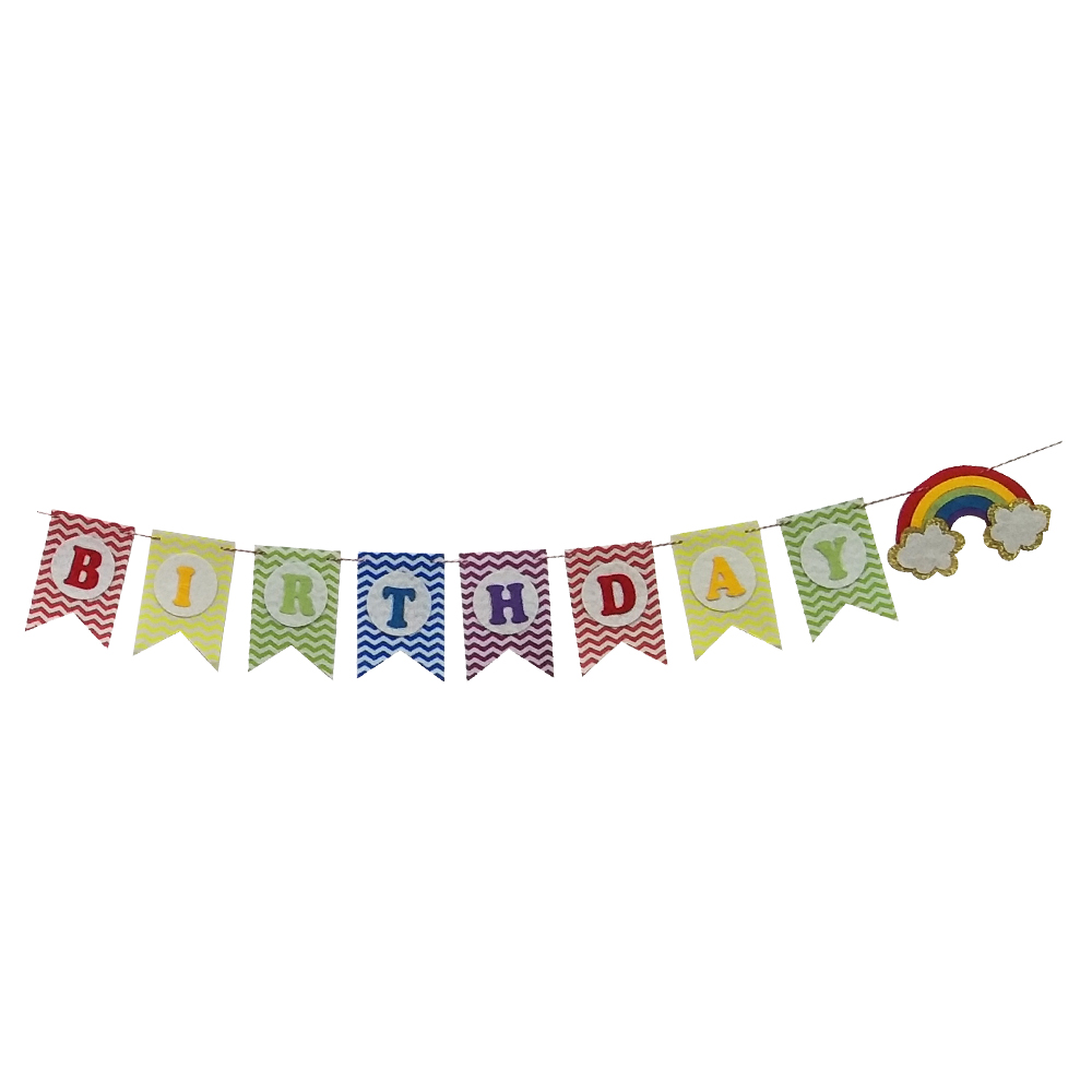 Colors Happy Birthday Banner