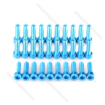 Aluminum M3x10mm Hex Socket Screws For RC quadcopters
