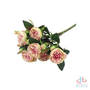 Rosa artificial rose ball garland wedding hanging