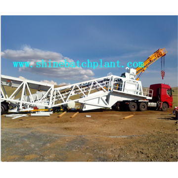 75 New Mobile Concrete Batching Station